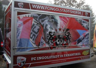 Anhängerbeschriftung FC Ingolstadt 04