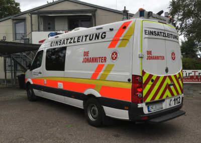 Fahrzeugbeschriftung Einsatzfahrzeug Einsatzleitung