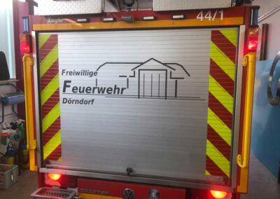 Fahrzeugbeschriftung Feuerwehr Reflexfolie 2020