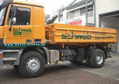 Fahrzeugbeschriftung LKW