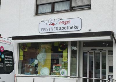 Firmenschild gefräst Reichertshofen