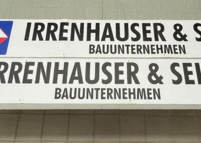 Kranbanner Liebherr 53K Ausleger
