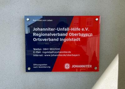 Praxisschild Ingolstadt