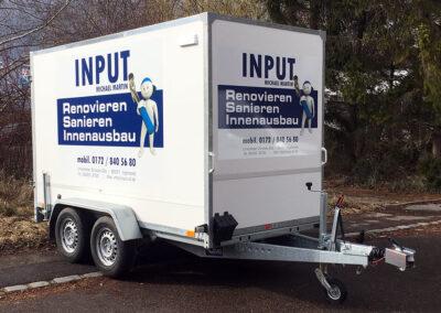 Beschriftung Folierung Anhänger Ingolstadt