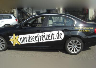 Fahrzeugbeschriftung BMW