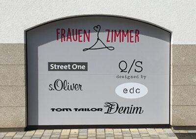 Schaufensterbeschriftung Pfaffenhofen
