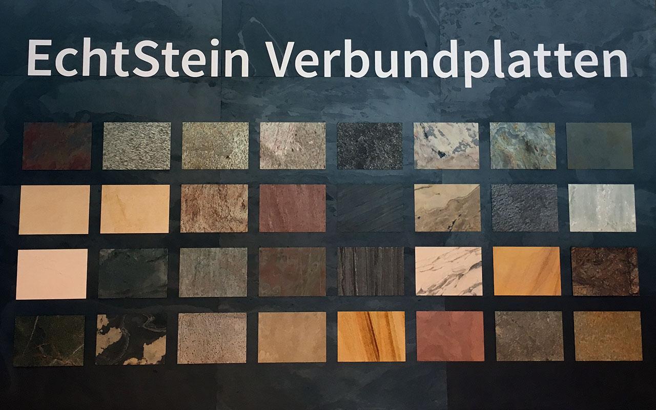 Verbundplatten aus Echtstein