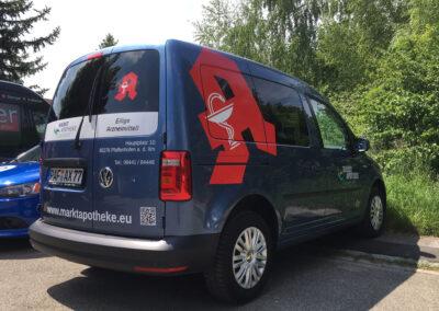 Fahrzeugbeschriftung VW