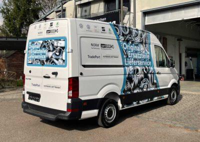 Fahrzeugbeschriftung VW Crafter