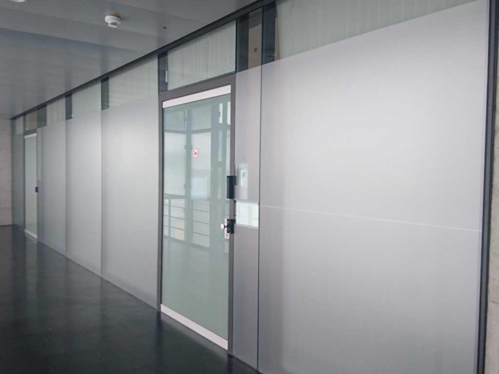 Milchglasfolie Glaswand Ingolstadt