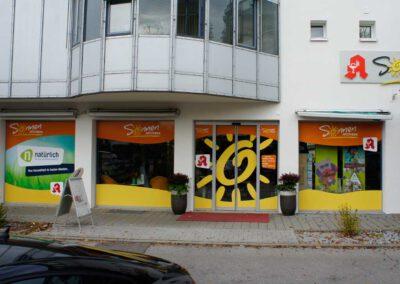 Schaufensterbeschriftung Ingolstadt